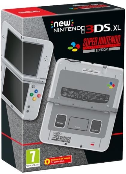 Nintendo 3DS New XL SNES Edition Blauw