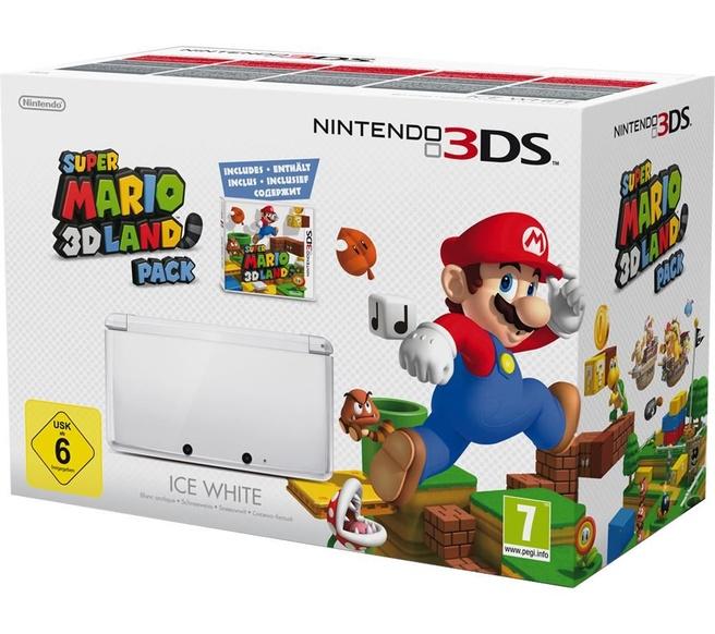 Nintendo 3DS Wit incl Super Mario 3D Land