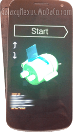 Samsung Galaxy Nexus fastboot