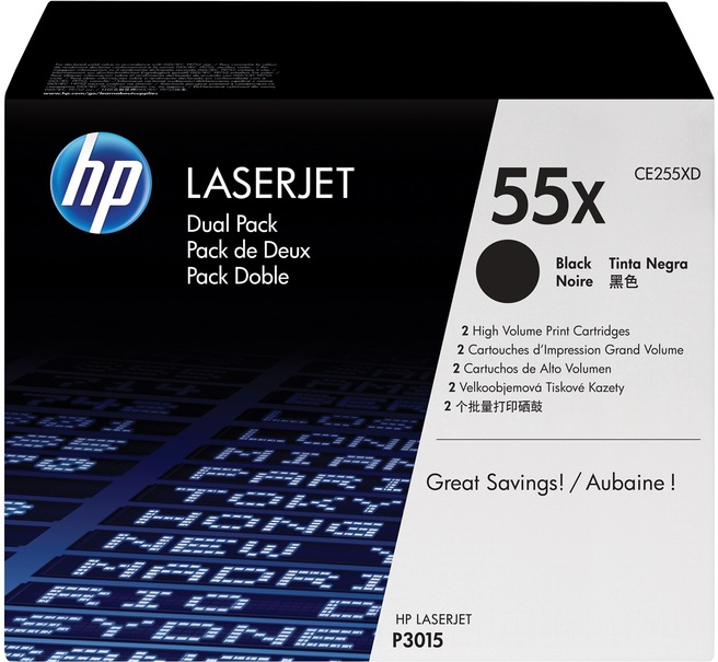 HP Laserjet CE255XD tonercartridge zwart high capacity (CE255XD)