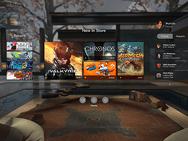 Oculus Rift launchgames en software