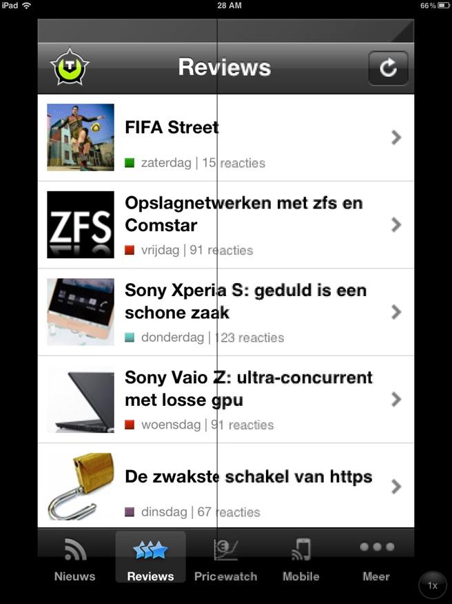Opschalen van iPhone apps op de nieuwe iPad