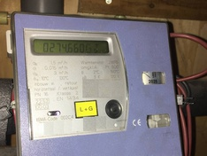 LandisGyr Ultraheat meter read out setup