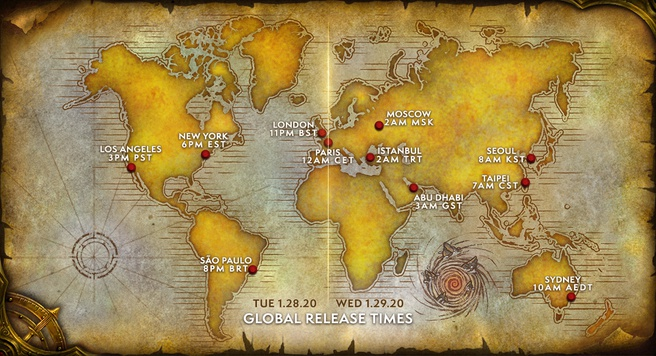 Warcraft III: Reforged releaseschema