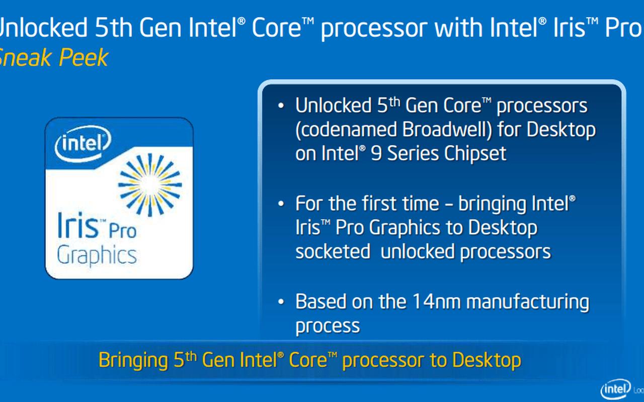 Intel roadmap-update maart 2014