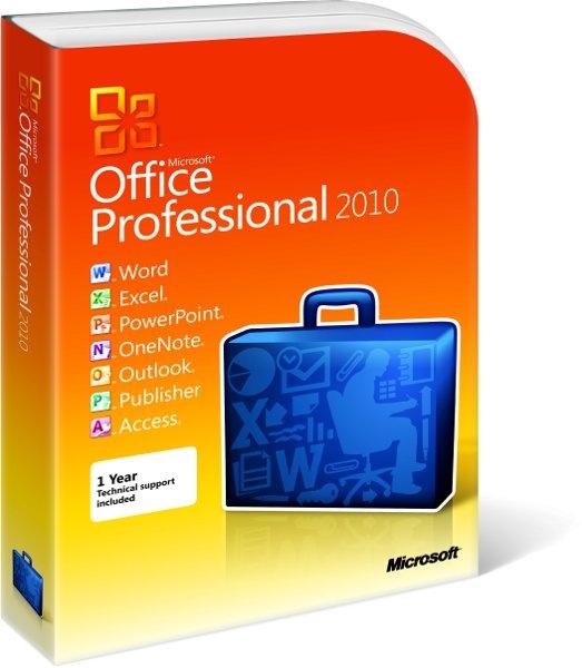 Microsoft Office Professional 2010 NL