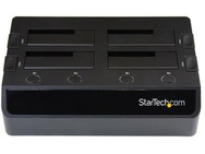 Startech.com 2,5/3,5 inch 4-bay SSD / HDD dock Zwart