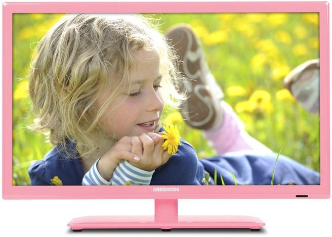 """Medion LIFE ® P13172 21,5"""" FULL-HD LED TV roze Roze"""