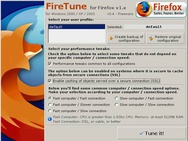 FireTune 0.4 screenshot (resized)