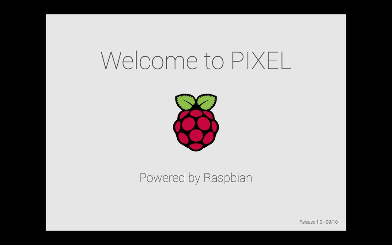 Raspberry Pi Raspbian Pixel desktopomgeving