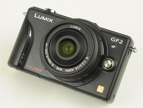 Panasonic Lumix GF2 inleiding