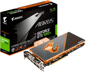 Gigabyte AORUS GeForce GTX 1080 Ti Waterforce WB Xtreme Edition 11G