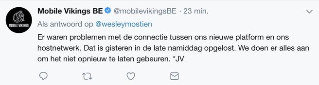 Mobile Vikings Twitter
