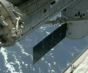 Dragon bij het ISS