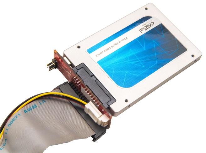 IDE naar SATA-adapter