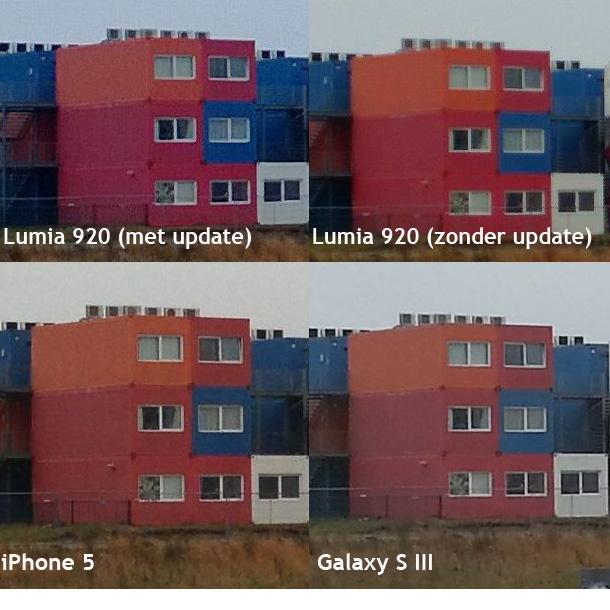 Fotovergelijking Lumia 920 hertest