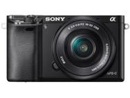 Sony Alpha 6000 + E PZ 16-50 mm F3.5-5.6 OSS Zwart