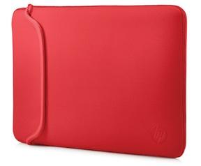 HP 15.6 Chroma sleeve Rood, Zwart