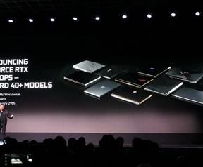 Nvidia laptopgpu aankondiging