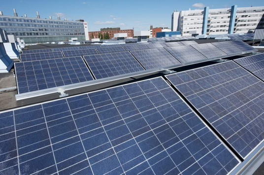 ABB zonne-energiecentrale in Finland