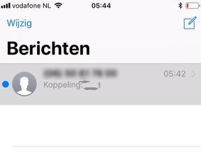 Link laat Berichten-app crashen