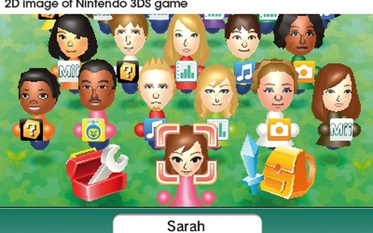 Nintendo 3DS - Meegeleverde software