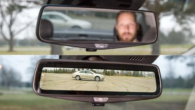 Cadillac CT6 spiegel
