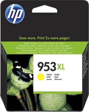 HP 953XL High Yield Yellow Original Ink