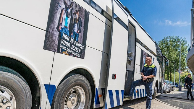 Politie geldezels