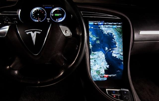 Tesla S met Tegra-soc