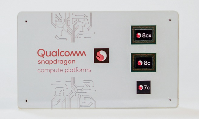 Qualcomm Snapdragon 8cx, 8c en 7c. Foto: Hardware Info