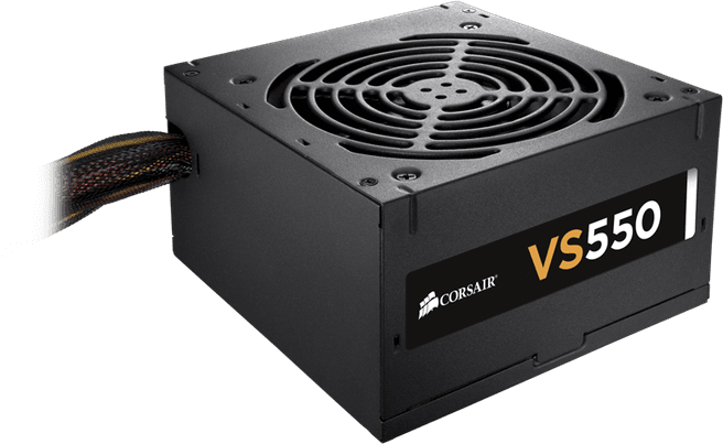 Corsair VS550 80plus
