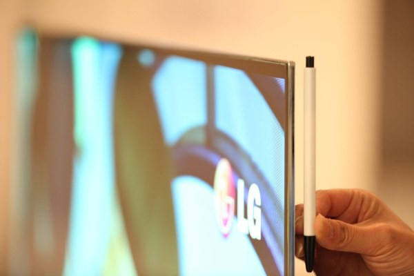 "LG's 55"" oled-scherm"