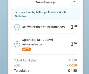Albert Heijn Tap to go