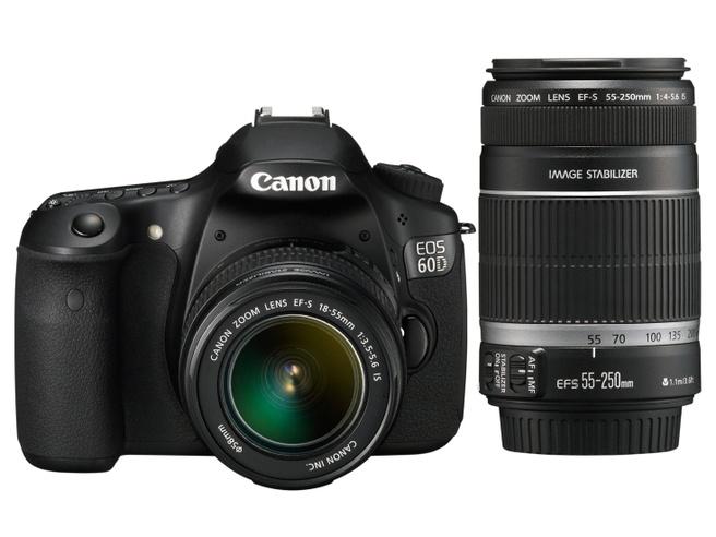 Canon EOS EF-S 18-55mm IS II + EF-S 55-250mm IS II