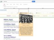 Google interactieve timeline