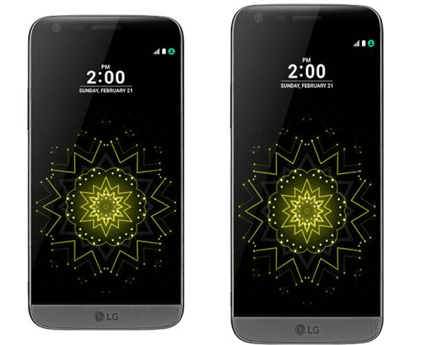 LG G5 met 16:9 en 18:9