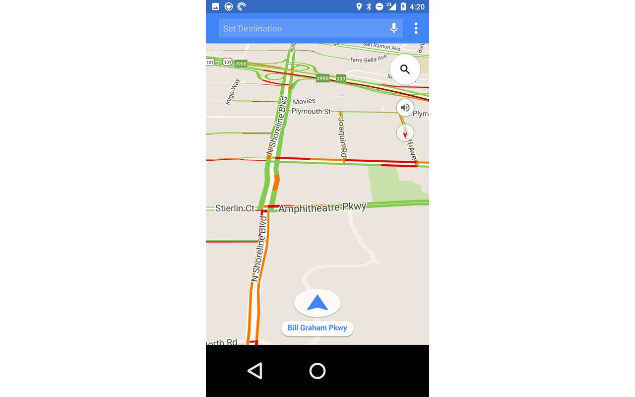Android Auto screenshots