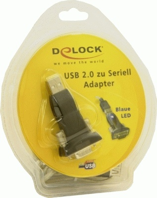 Delock USB 2.0 to Serial Adapter