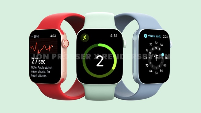 Apple Watch Series 7 tramite Front Page Tech