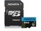 Goedkoopste Adata Premier microSDXC UHS-I Class 10 64GB + SD-adapter