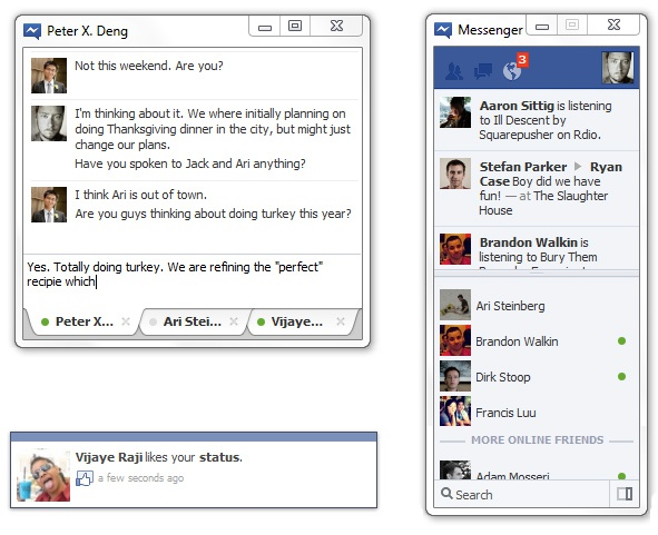 Facebook Messenger voor Windows