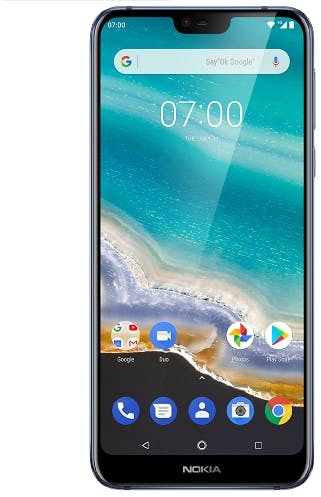 Nokia 7.1 (3GB ram, 32GB opslag) Blauw
