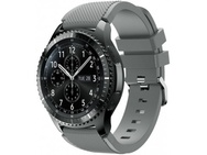 Goedkoopste qMust Sport armband voor Samsung Gear S3 Classic / Frontier - grijs