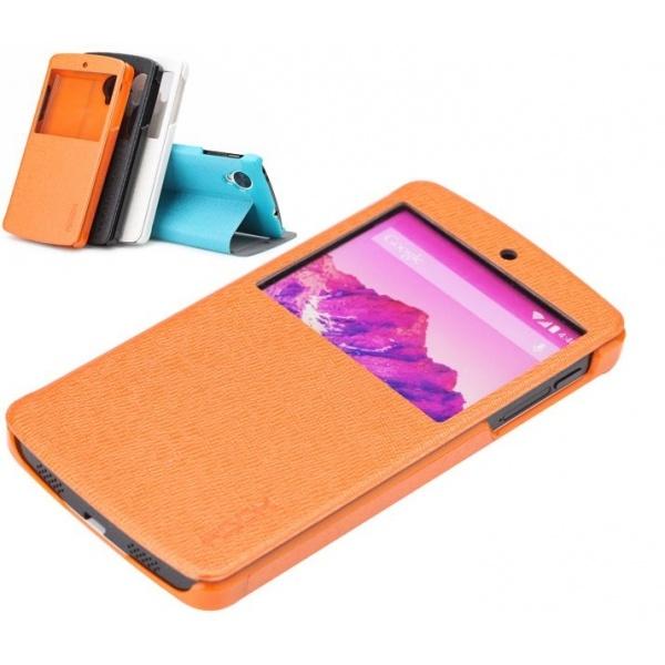Rock ROCK Leather case LG Nexus 5 (EXCEL Serie orange)