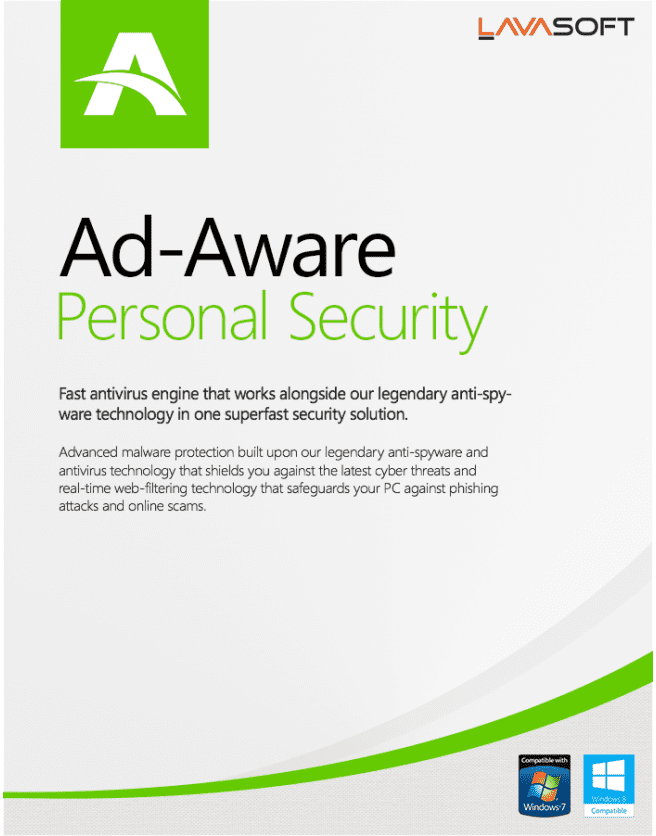 Lavasoft Ad-Aware Personal Security (3PC) 2 year