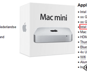 Apple Mac mini mid 2014 gerucht