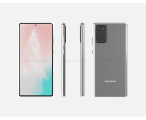 Pigtou Samsung Galaxy S20 render gerucht