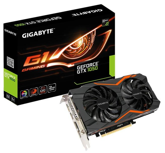 Gigabyte GTX 1050 Ti