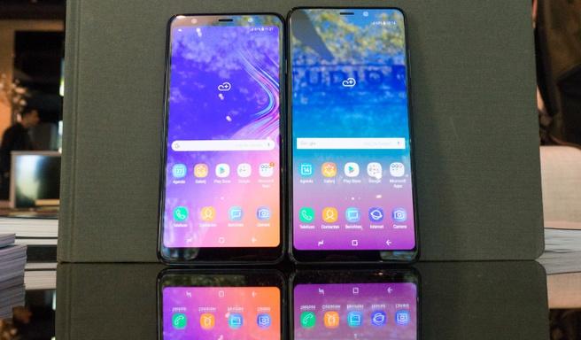 Samsung Galaxy A9 en A7
